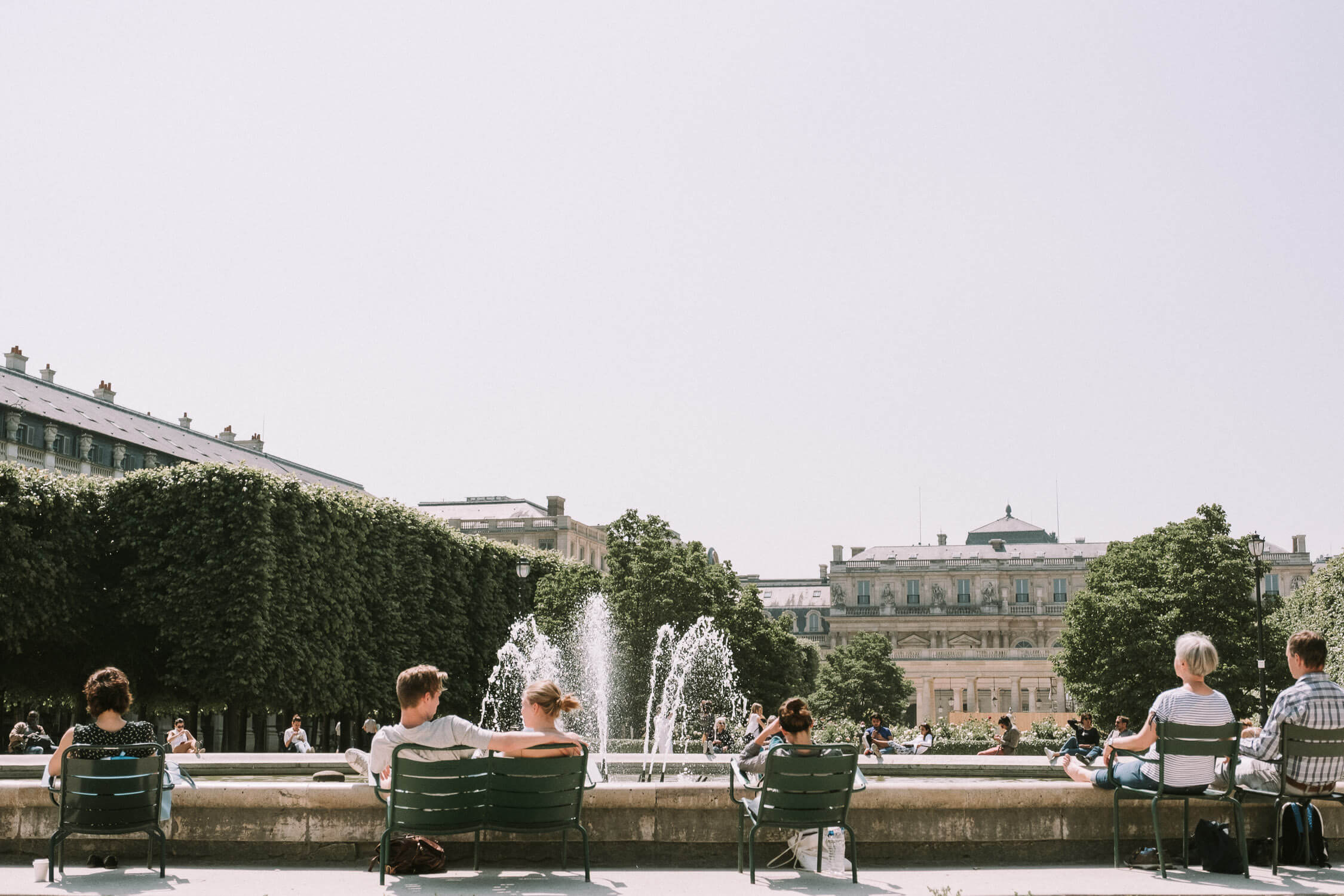 Palais Royal in Paris France