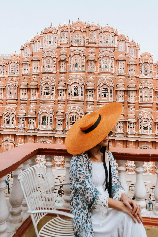Hawa Mahal in Jaipur, India | Photography by Kayla Mendez
