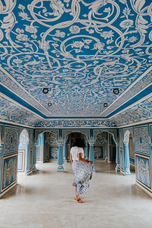 Blue Palace, Jaipur India | Photography by Kayla Mendez