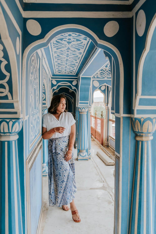 Blue Palace, Jaipur India   Photography by Kayla Mendez