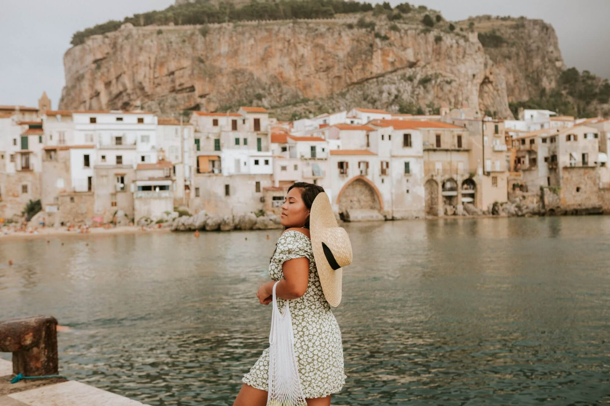 Solo Female Traveler in Sicily by Kayla Mendez Photography